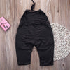 Cute Kids Baby Girls Spaghetti Strap Romper Belt Jumpsuit Pants Bodysuit Clothes Outfits