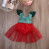 Newborn Infant Baby Girl Red Backless Romper Jumpsuit Sun suit Outfits Clothes