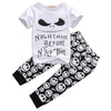 summer style Cotton Baby Boys Casual T-shirt+Cross Pants 2pcs baby clothing sets baby boy clothes