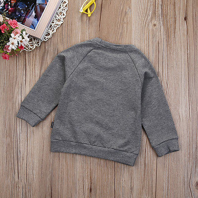 Children's wears winter spring and autumn boy baby long sleeved  T-Shirts kids tops clothes