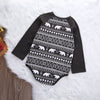 Autumn Baby Boy Girl Bear Clothes Romper Long Sleeve Cotton Jumpsuit Outfit
