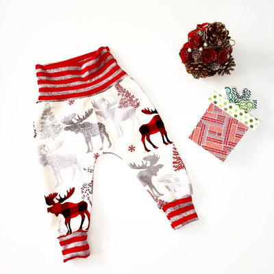 Newborn Infant Kids Baby Boy Girl Deer Animal Bottom Harem PP Pants Leggings Trousers