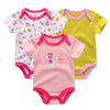 Infant Winter Romper Baby Sayings Pretty In Flamingo Romper baby Clothing baby Girl 0-3,3-6,6-9,9-12 months