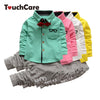 Gentleman Kids Clothing Set Glasses Tie Long Sleeve T-shirts + Stripe Pants Children Suit Two Piece Suit Kids set