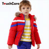 Winter born Warm Duck Down Soft Baby Boys Girls Coat Jacket Hooded Long Sleeve Children Parkas Solid Kids Outerwear Snowsuit
