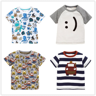 Boys T-shirt for boy new children's clothing baby kids t shirts cotton cartoon baby clothes