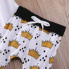 Autumn baby boy clothes 2Pcs born Kids Baby Boy Girl WILD T-shirt Tops+Long Pants Outfits Clothes Set