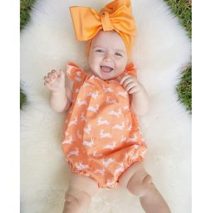 Newborn Kid Baby Girls Deer Romper Jumpsuit Sun suit Clothes