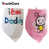 Embroidery Cute Baby Bibs Burp Cloths Baby Girl Boy Infant Saliva Towel born Feeding