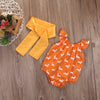 born Kid Baby Girls Deer Romper Jumpsuit Sun suit Clothes