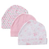 Real Hot Sale Character Unisex Cotton 0-3 Months 4-6 Months Fitted Baby Hats & Caps infant Caps 3 Pack 0-3 Months