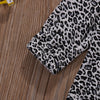 Autumn Winter Cotton Newborn Infant Baby Girls Leopard Romper Long Sleeve Jumpsuit Clothes Outfits