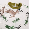born Baby Infant Boy Girl Romper +Headband Deer Jumpsuit Outfits Clothes