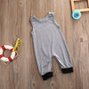 Cute born Infant Baby Boy Girl Panda Romper Sleeveless Cotton Jumpsuit Clothes Outfits