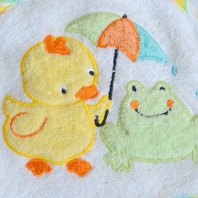 High Quality 76*76cm Children's Embroidery Bathrobe Infants Towels Baby Kids Bath Towel baby Product