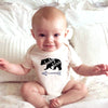 Newborn Infant Kids Baby Boy Girl Romper Short Sleeve Cotton Jumpsuit