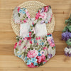 Summer Floral Newborn Baby Girl Clothes Floral Romper Ruffles Sleeve Toddler Kids Jumpsuit Outfits Sun suit Halter