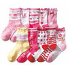 High quality 5 Pair Cute princess Cotton kids girl children socks girls socks