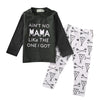 Baby Girl Geometric Clothing Sets Autumn & Spring Kids Baby Boys Outfits Long Sleeve Shirt Tops +Pants Clothes Set