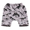Baby Kids Boys Girls dinosaur Trouser Bottoms Toddler Legging Sweat Harem Short Pant 0-4Y