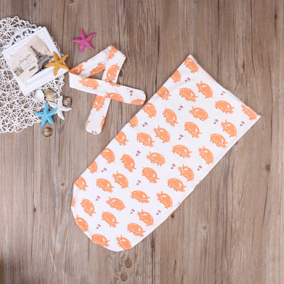 Baby Swaddle blanket Baby Swaddle+Headband Newborn Baby Bath Towel Swaddle Blankets Multi Functions Baby Wrap