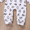 born Baby Boys Girls Long Sleeve Rompers panda printing Jumpsuits Tracksuits Outfits Clothes