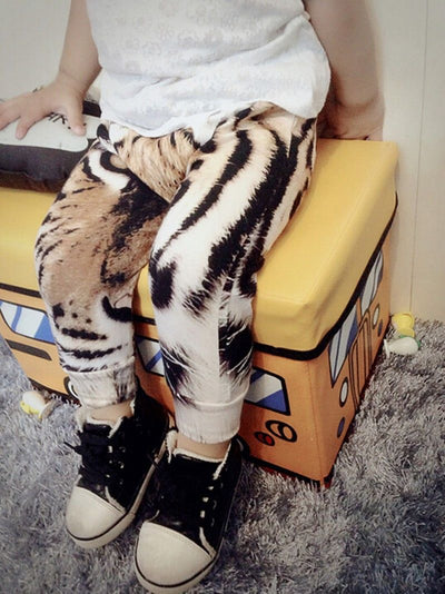 New baby Girls Boys Pants Digital Tiger Printed Baby Harem Pants baby Boy Girl Kids Children Trousers
