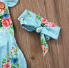 Baby girls clothing Set born Baby Girls Floral Romper Sun suit Headband Clothes