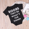 Summer Cute Toddler Baby Boys Boobs Romper Short Sleeve Jumpsuit Outfit Sun suit
