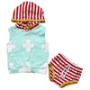 born Baby Boy Clothes Summer Baby Boys Hoodies Tops+ Shorts Striped Pants Outfits Clothes