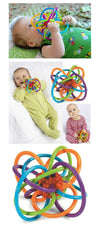 Baby Toy Baby Ball Toy Rattles Develop Baby Intelligence Baby Toys Plastic Hand Bell Rattle