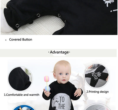 Baby Boy Clothing Sets Infant Jumpsuits Long Sleeve Baby Girl Clothing Newborn Baby Clothes