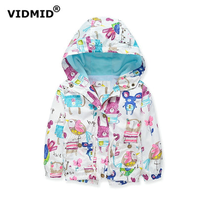 Baby girls jacket casual hooded outerwear girls coat warm fleece kids clothing children jackets for girls cardigan