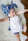 Newborn Baby Girl Clothes Summer Sleeveless Halter Tassel Romper +Headband 2pcs Outfit Toddler Kids Sunsuits 0-24M