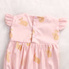 Lovely Baby Girls Kids Cotton Deer Romper Funny ruffles Sleeve Jumpsuit Clothes Sun suit Outfits