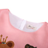 Princess Dress Girls Clothes Girls Christmas Dress Children Teddy Bear Print Long Sleeve Girl Dresses Kids