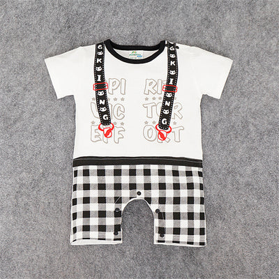 Baby Boy Clothing Sets Baby Boy Jumpsuits Short Sleeve Newborn Baby Boys Clothes Rompers