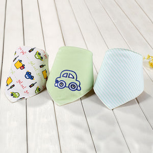 Baby Bibs Cute Bird Triangle Bibs&Burp Cloths Girl Boy Para Accessories