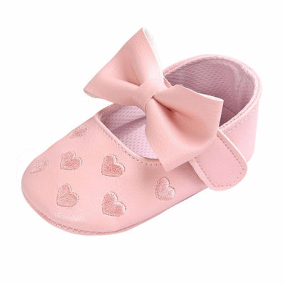 Newborn Baby Boy Girl Baby  First Walkers Soft Ballet Shoes Soft Soled