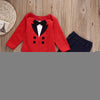 Baby boy clothes newborn Gentleman Newborn Kids Baby Boy Romper +Pants Outfits Clothes Set