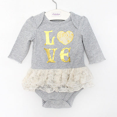 Newborn Baby Rompers Dress Summer Cotton Baby Girl Jumpsuits Clothing long sleeve Baby Overalls Body For Baby Clothes