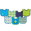 7 pcs Cotton Baby Bibs Boys Girls Fashion Style Baby Bibs Towel Toddler Lunch Bibs Burp Clothes