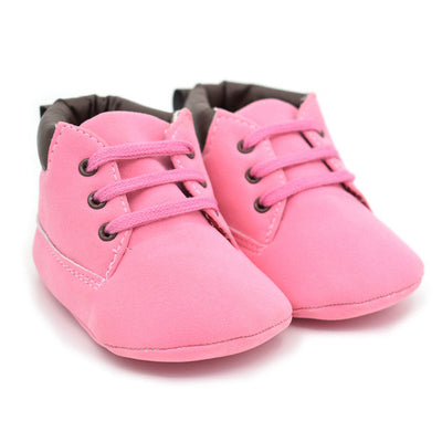 Newborn Baby Casual Shoes Infant Toddler Girl Baby Crib Shoes Boot Newborn Soft Sole Martin Shoes Moccasin