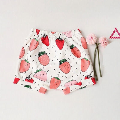 Summer Cute Baby Girls Pants Summer Shorts Bloomers Hot Pants Daytime Leisure Bottoms
