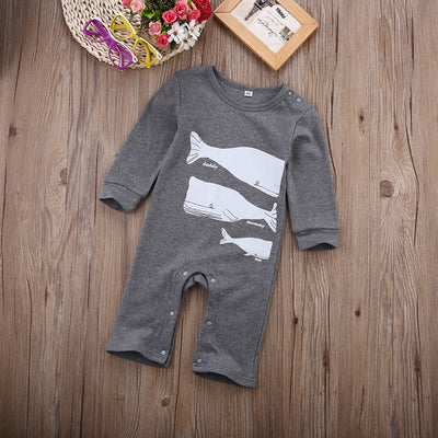 New Arrived Baby Girls Boys Reindeer Cotton Romper Girls Christmas Jumpsuit Autumn Spring Boys Girls Clothes