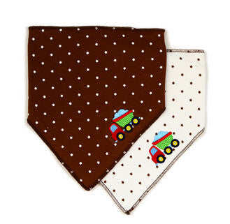 Lovely Cartoon Baby Bibs Burp Cloths Baby Girl & Boy Character Baby Bibs 2 Pieces