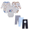 Nest Baby Boy Clothes New Born Toddler Infant 0-12 Autumn/Spring Baby Rompers Baby Pants Baby Clothing