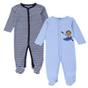 Baby Rompers Long Sleeves 2 Pcs Soft Cotton born Baby Clothing Baby Pajamas Infant Clothes