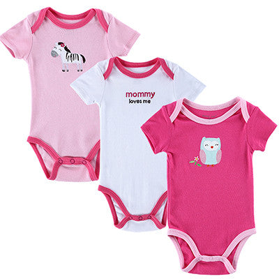 Newly Baby Bodysuit Girls and Boys Summer Baby Girls Clothing Short Sleeves Sleepwear Newborn Unisex Baby Clothes