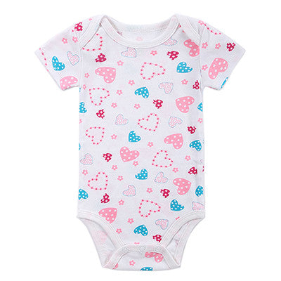 100%Cotton Fashion Animal Style Printed Infant Jumpsuit Clothes Baby Girls Bodysuit Babies Dresses Newborn Clothing